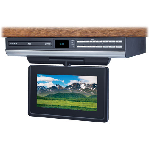 "Audiovox VE727 7"" Drop Down LCD TV / DVD Player"