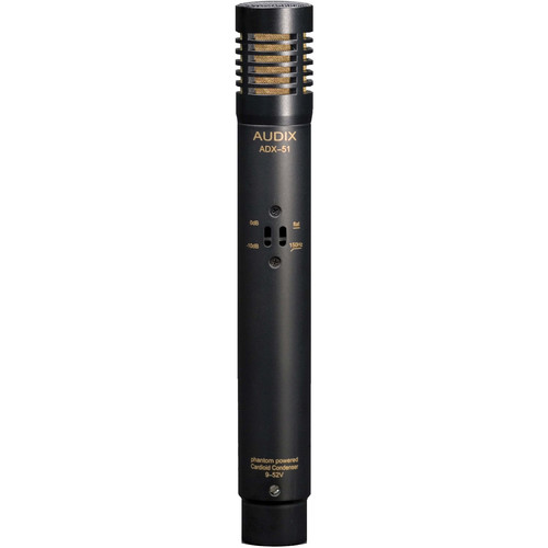 Audix ADX-51 Pre-polarized Condenser Instrument Microphone