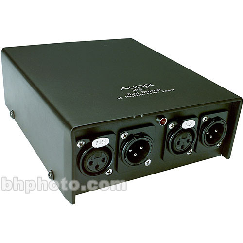 Audix APS2 Two Channel 48V Phantom Power Supply