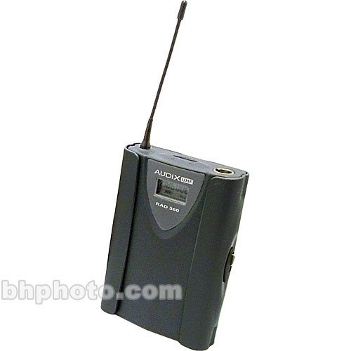Audix B360 Body-Pack Transmitter for Audix RAD360 (Channel B)