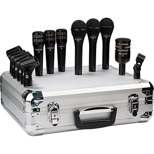 Audix BP7 PRO Microphone Set