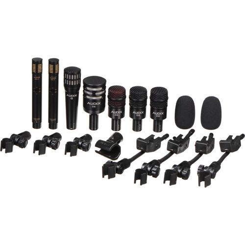 Audix DP7 - Professional Seven Piece Drum Microphone Kit