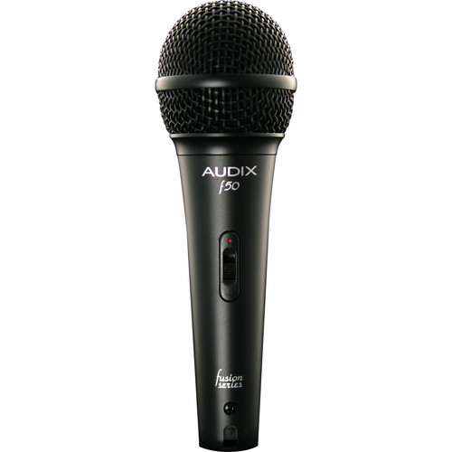 Audix f50S Handheld Cardioid Dynamic Microphone with On/Off Switch