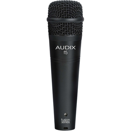 Audix f5 Fusion Series Hypercardioid Instrument Microphone
