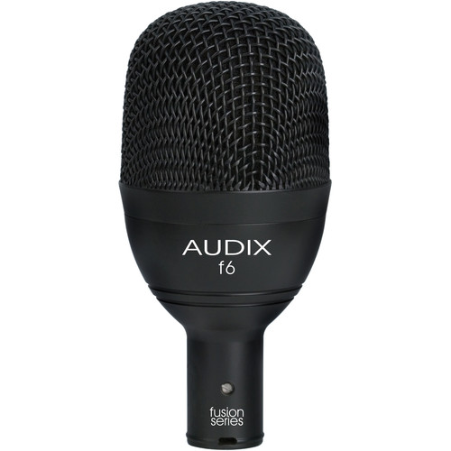 Audix f6 Fusion Series Hypercardioid Low-Frequency Instrument Microphone