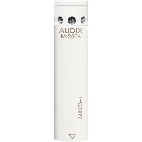 Audix M1250BW-HC Miniaturized Condenser Microphone (Hypercardioid, White)