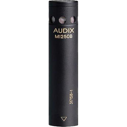 Audix M1250B Miniaturized Condenser Microphone (Cardioid, Black)