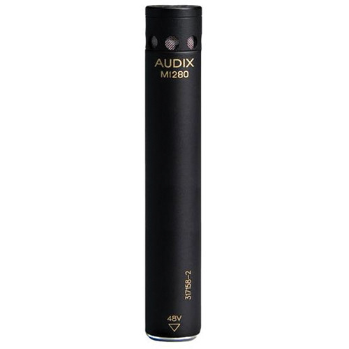 Audix M1280BO Miniature Condenser Microphone with 25' Cable (Omnidirectional)