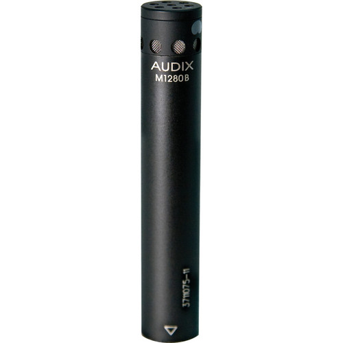 Audix M1280BS Miniature Condenser Microphone with 25' Cable (Supercardioid)