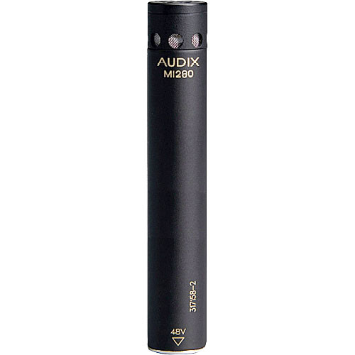 Audix M1280B Miniature Condenser Microphone with 25' Cable (Cardioid)