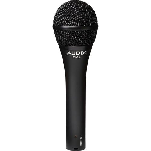 Audix OM2 - Dynamic Hypercardioid Handheld Microphone