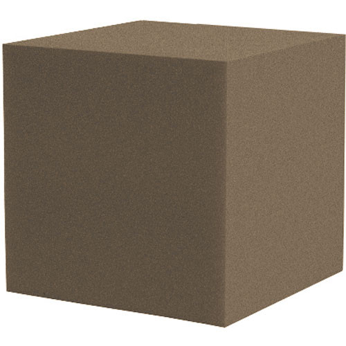 "Auralex 12"" Cornerfill Cube (Brown) - Two Pieces"