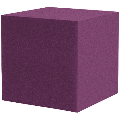 "Auralex 12"" Cornerfill Cube (Plum) - Two Pieces"
