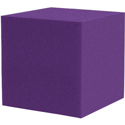 "Auralex 12"" Cornerfill Cube (Purple) - Two Pieces"