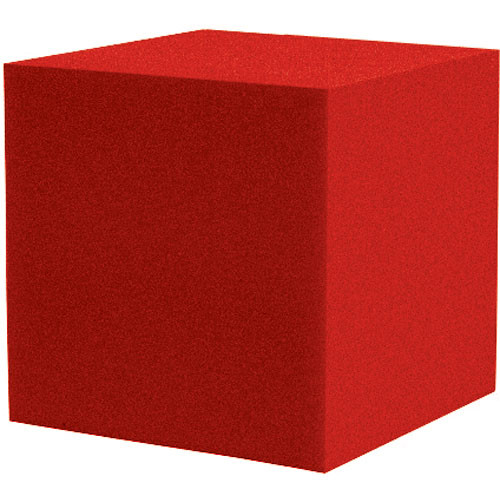 """Auralex 12"""" Cornerfill Cube (Red) - Two Pieces"""