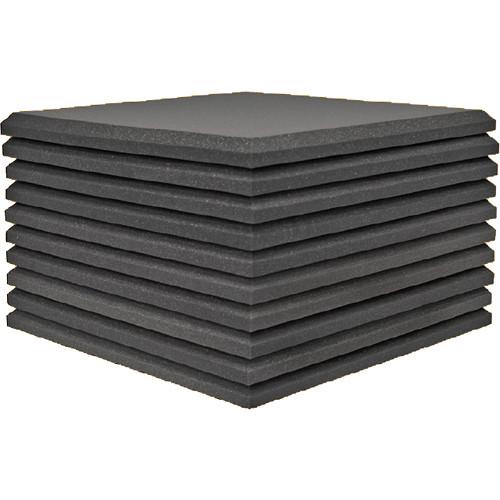 Auralex Studiofoam Pro Acoustical Foam Panel (10-Pack, 2 x 2')