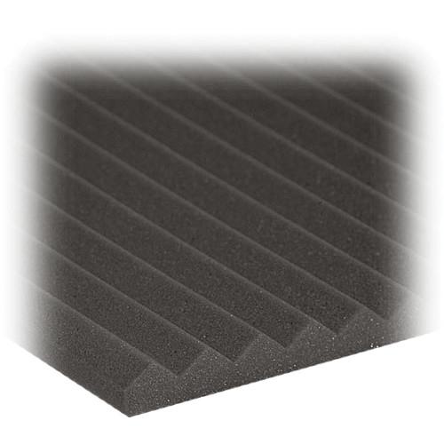 "Auralex 1"" Studiofoam Wedge (Charcoal Gray) - 24"" x 48"" x 1"" Acoustic Absorption Panel - 20 Pieces"