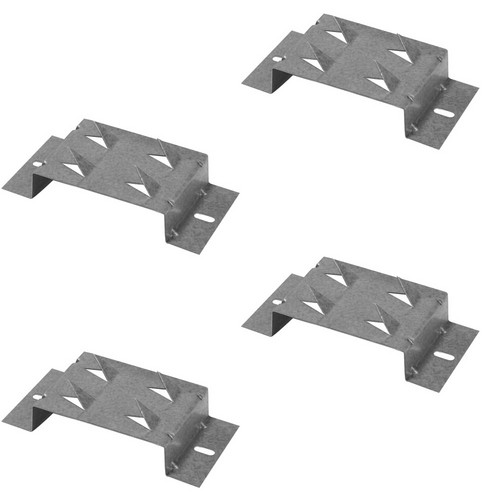 "Auralex 1"" Offset Impaling Clips for ELiTE-Series Acoustic Panels (4-Pack)"