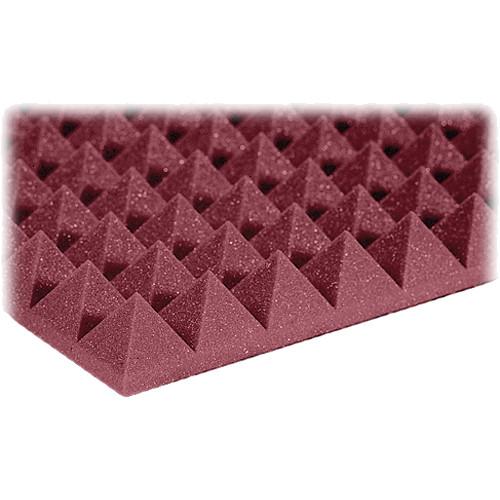 "Auralex 2"" Studiofoam Pyramid-22 (Burgundy) - 12 Pieces"