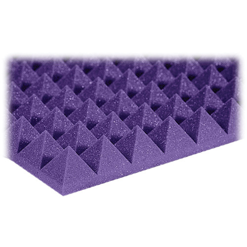 "Auralex 2"" Studiofoam Pyramid-22 (Purple) - 12 Pieces"