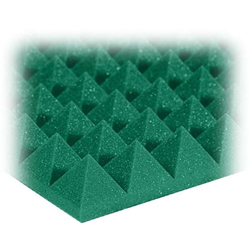 "Auralex 2"" Studiofoam Pyramid-24 (Forest Green) - 12 Pieces"