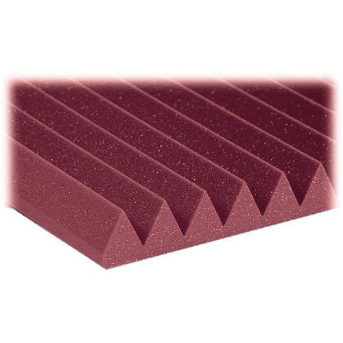 "Auralex 2"" Studiofoam Wedge-22 (Burgundy) - 12 Pieces"