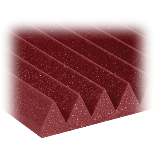 "Auralex 2"" Studiofoam Wedge-24 (Burgundy) - 12 Pieces"