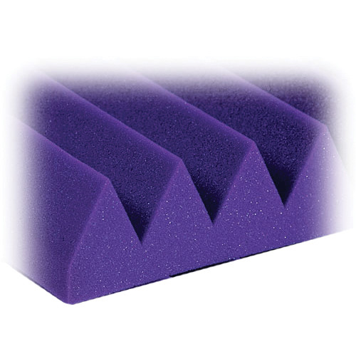 "Auralex 3"" Studiofoam Wedge-24 (Purple) - 8 Pieces"