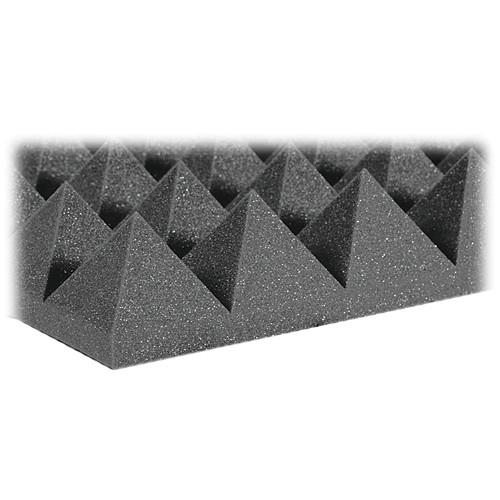 "Auralex 4"" Studiofoam Pyramid-22 (Charcoal) - 6 Pieces"