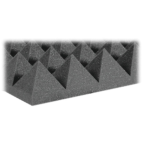"Auralex 4"" Studiofoam Pyramid-22 (Charcoal) - 6 Pieces"