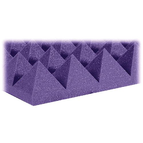 "Auralex 4"" Studiofoam Pyramid-22 (Purple) - 6 Pieces"