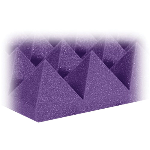 "Auralex 4"" Studiofoam Pyramid-24 (Purple) - 6 Pieces"