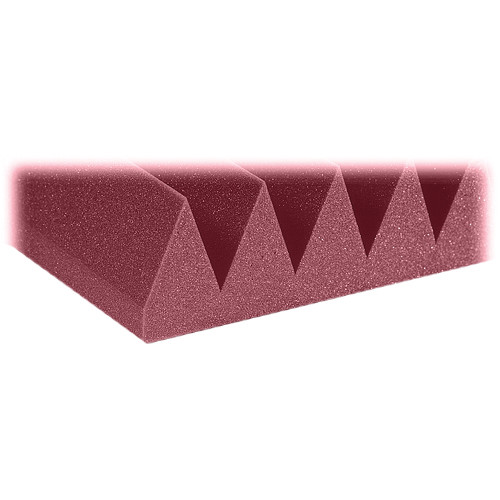 "Auralex 4"" Studiofoam Wedge-22 (Burgundy) - 6 Pieces"