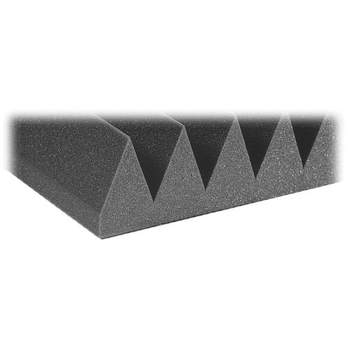"Auralex 4"" Studiofoam Wedge-22 (Charcoal) - 6 Pieces"