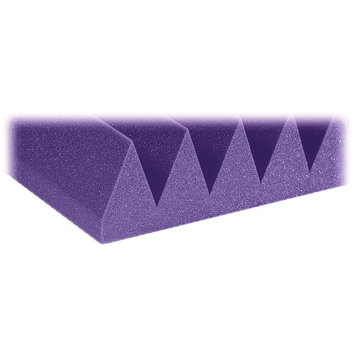 "Auralex 4"" Studiofoam Wedge-22 (Purple) - 6 Pieces"