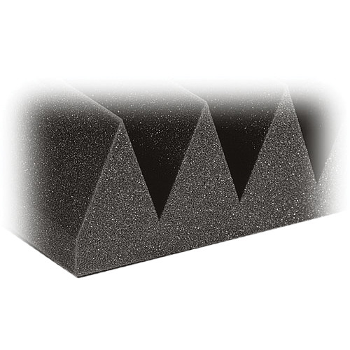 "Auralex 4"" Studiofoam Wedge-24 (Charcoal Gray) - 6 Pieces"
