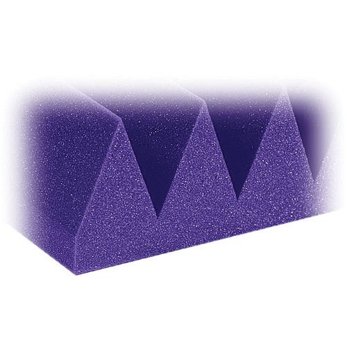 "Auralex 4"" Studiofoam Wedge-24 (Purple) - 6 Pieces"