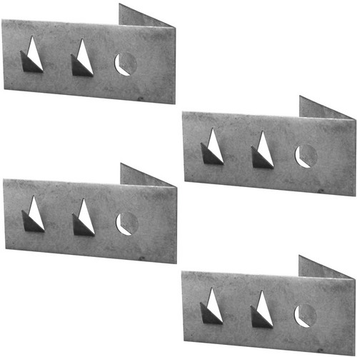 Auralex 45 Degree Impaling Clips for Control Panels (Right, 4-Pack)