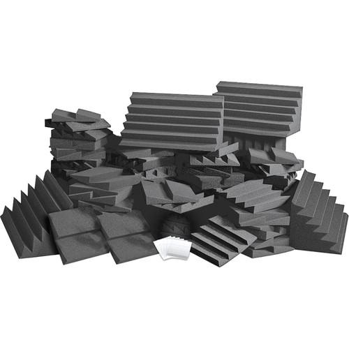 Auralex D108L Roominators Kit (Charcoal Grey/Charcoal Grey)