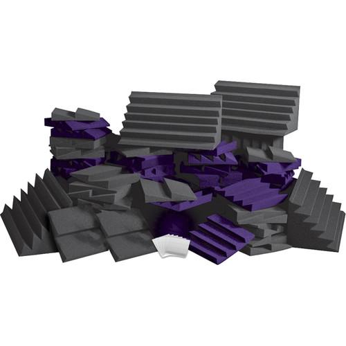 Auralex D108L Roominators Kit (Charcoal Grey/Purple)