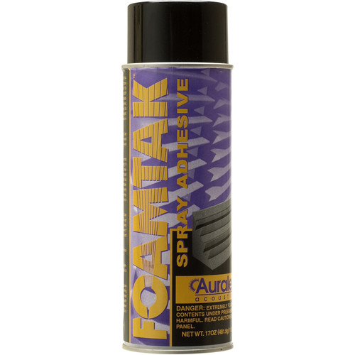 Auralex Foamtak Acoustic Foam Spray Adhesive - Single Can