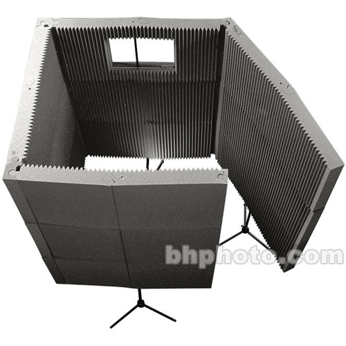 Auralex MAX-Wall 1141 - Portable Recording Booth Kit (Charcoal Gray)