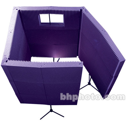 Auralex MAX-Wall 1141 - Portable Recording Booth Kit (Purple)