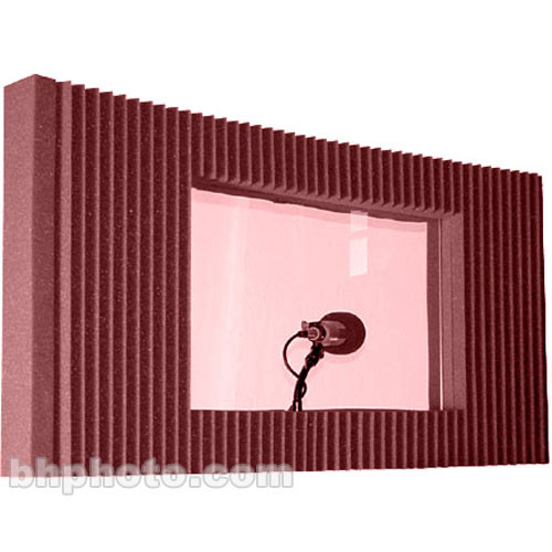Auralex MAX-Wall Window Kit (Burgundy) - Single