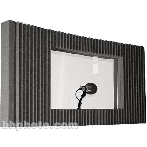 Auralex MAX-Wall Window Kit (Charcoal Grey) - Single