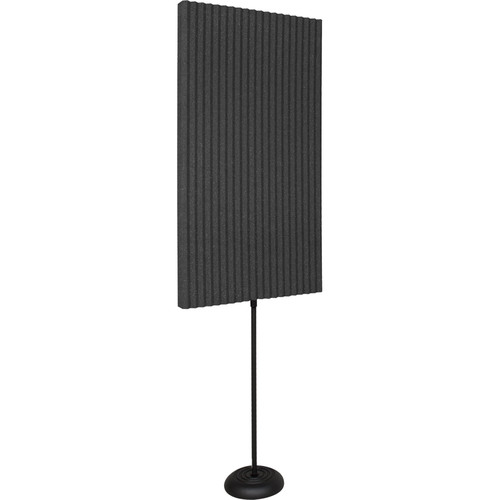 Auralex ProMAX Acoustic Panels with Floor Stands (Charcoal Grey)