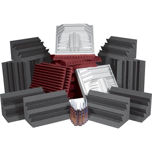 Auralex Pro Plus Roominators Kit - (Burgundy/Charcoal)