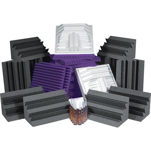 Auralex Pro Plus Roominators Kit - (Purple/Charcoal)
