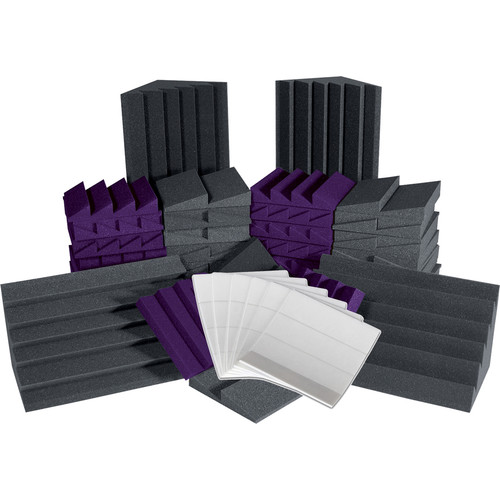Auralex Alpha-DST (Charcoal Grey/Purple) Roominators Kit