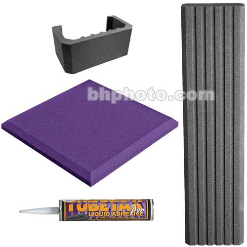 Auralex SFS-112 SonoFlat System (Purple/Charcoal Gray)